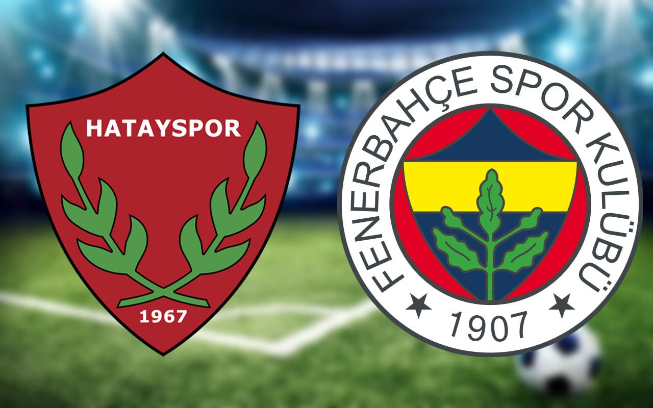 Hatayspor Fenerbahçe maçından önemli dakikalar