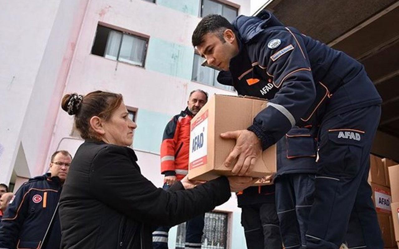 Afetzedeler için AFAD koordinasyonunda yardım kampanyası başlatılabilecek