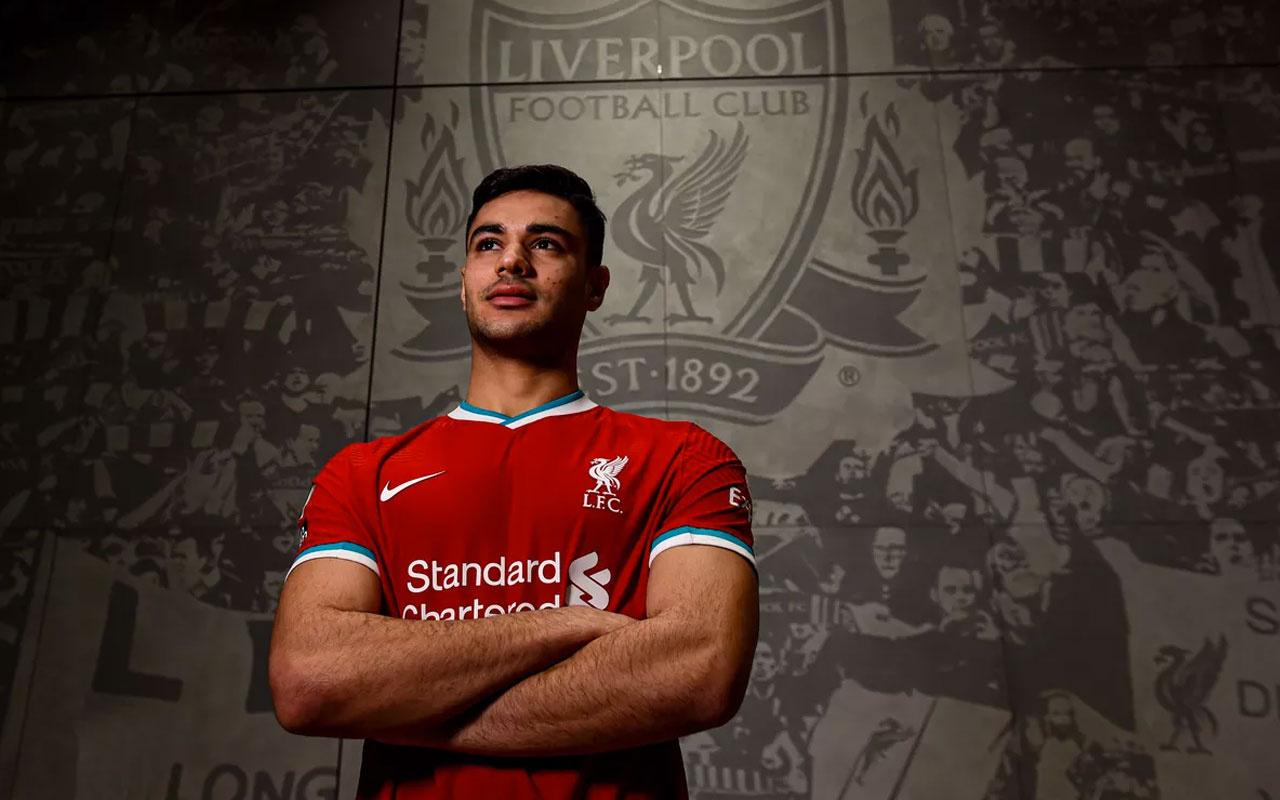 Ozan Kabak, Liverpool formasını giydi