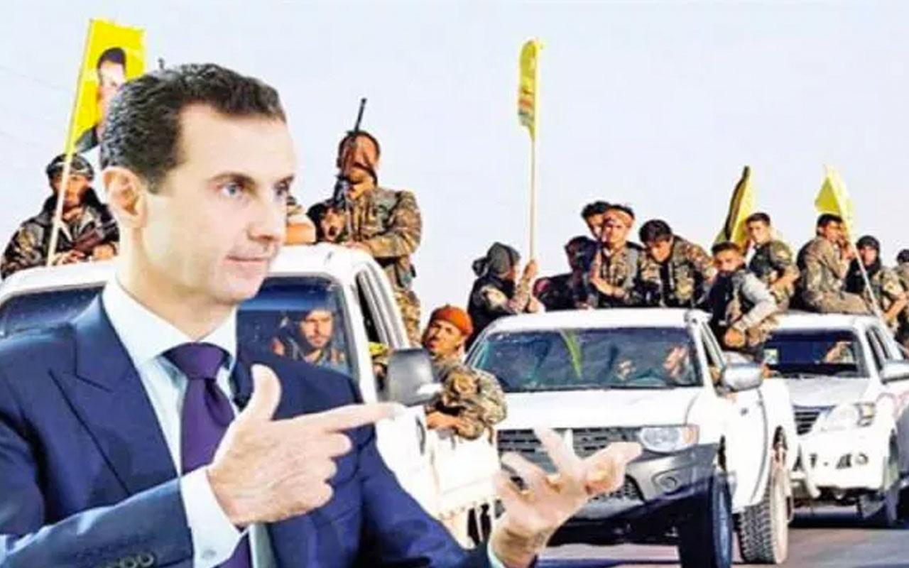 Suriye'de terör örgütü YPG ile Esed anlaştı karşılıklı ablukalar gevşetiliyor