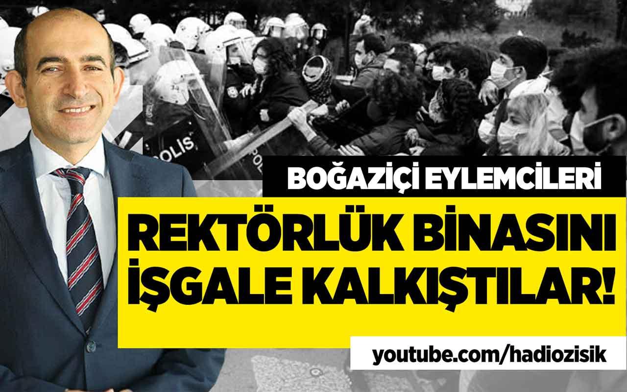 Polis Boğaziçi'nde işgale sessiz mi kalsaydı!