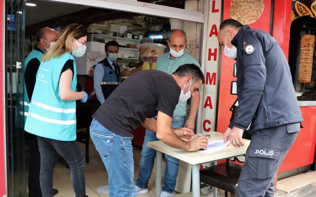 Sultanbeyli'de Covid-19 tedbirlerine uymayanlara 10 milyon TL ceza kesildi