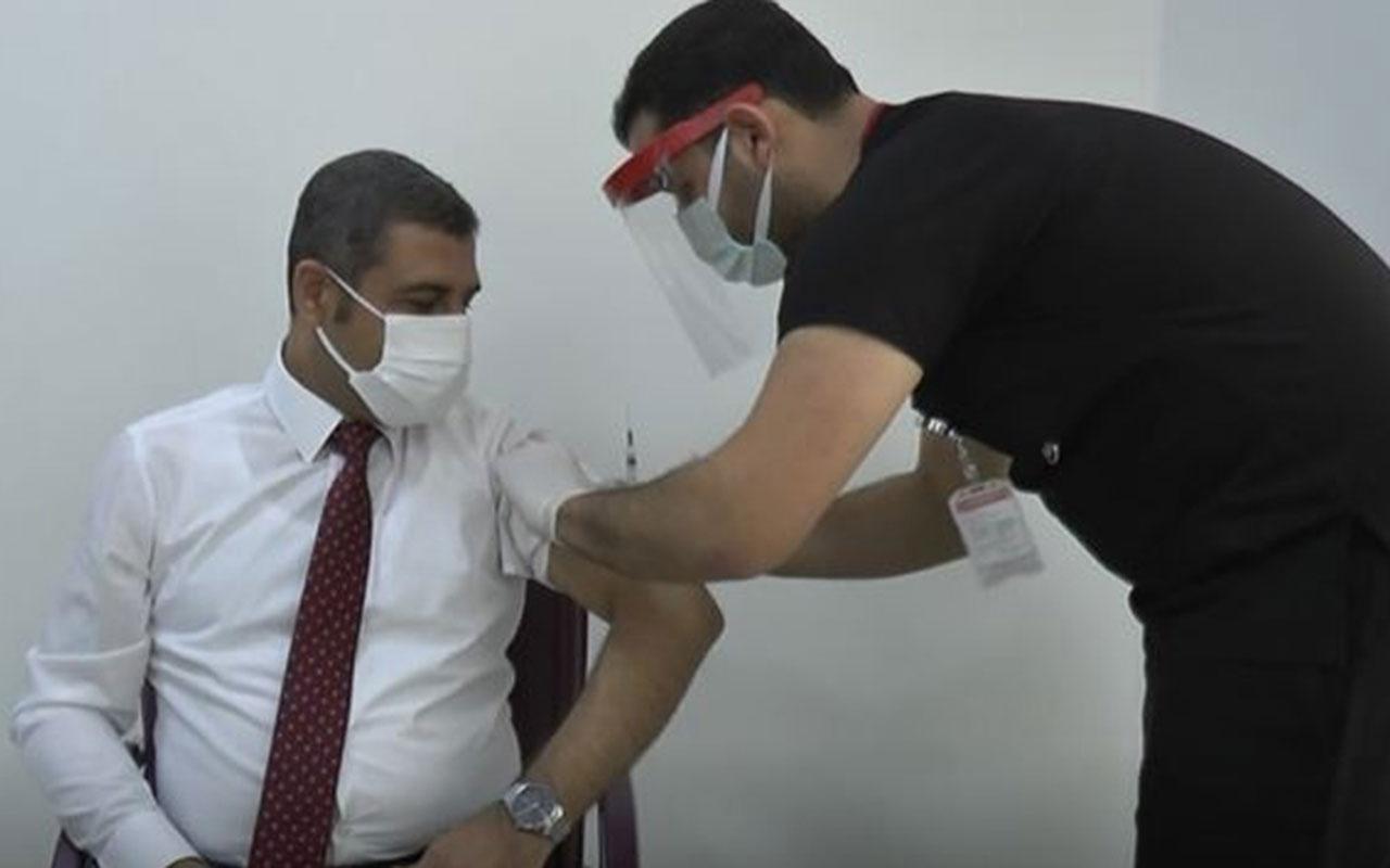 Koronavirüs aşısı yaptıran MHP Milletvevekili Ali Muhittin Taşdoğan Covid 19'a yakalandı