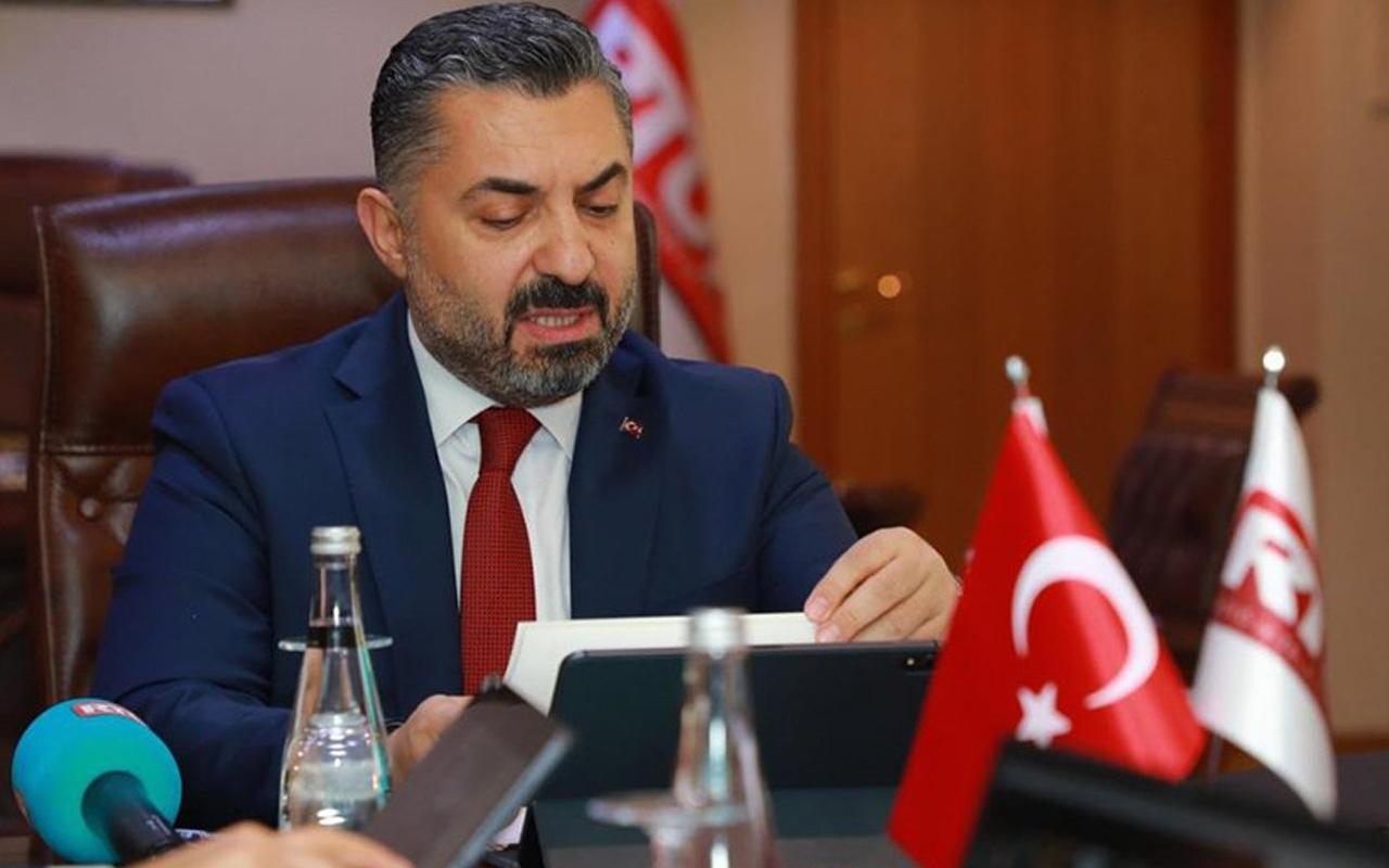 RTÜK Başkanı Ebubekir Şahin: Milletimizin aleyhindeki yayınlara geçit vermeyeceğiz