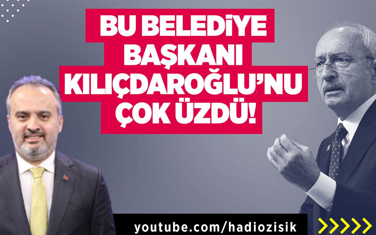 Bu Belediye Başkanı Kemal Kılıçdaroğlu'nu çok üzdü!