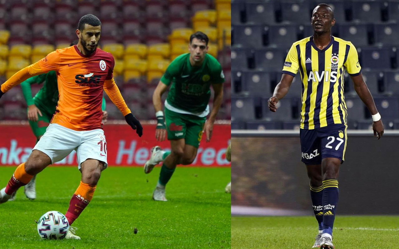 Galatasaray'da Belhanda, Fenerbahçe'de Thiam