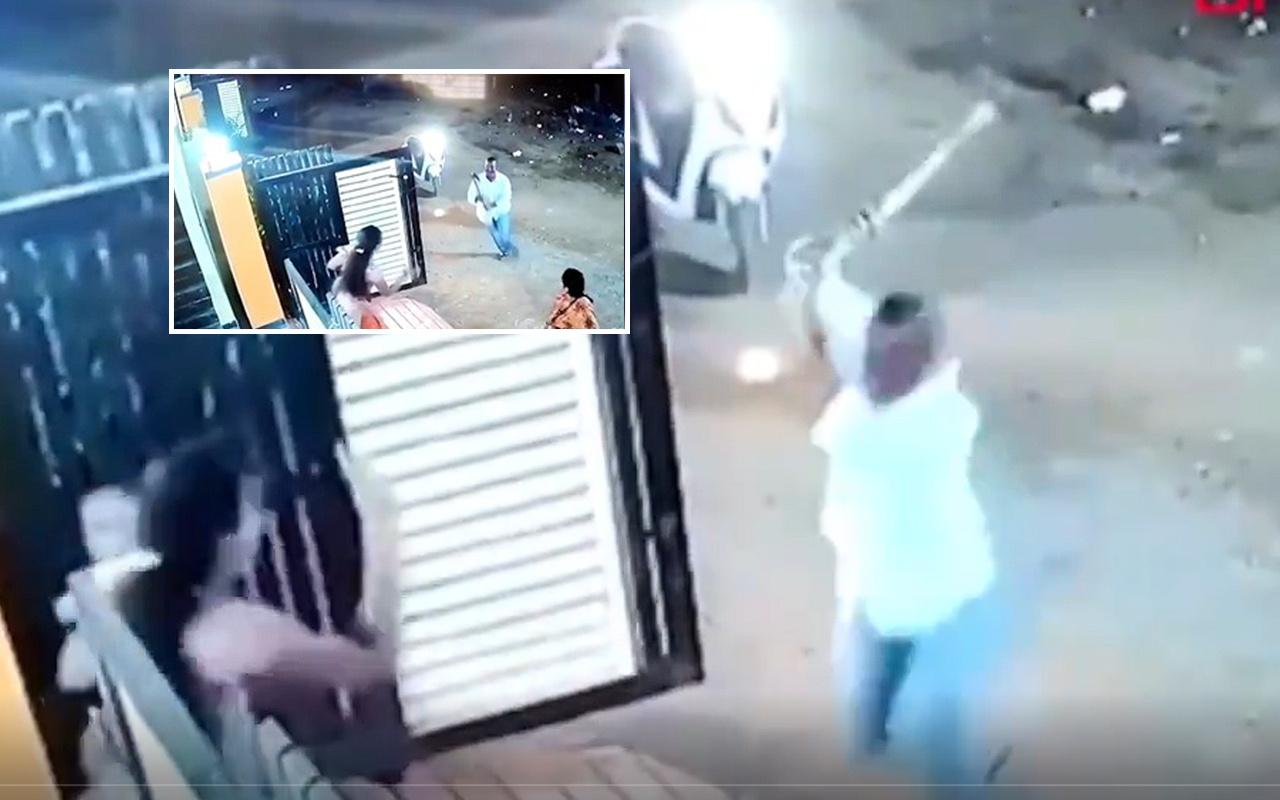 Hindistan'da baltalı tacizci dehşeti yaşattı! Kadına böyle saldırdı