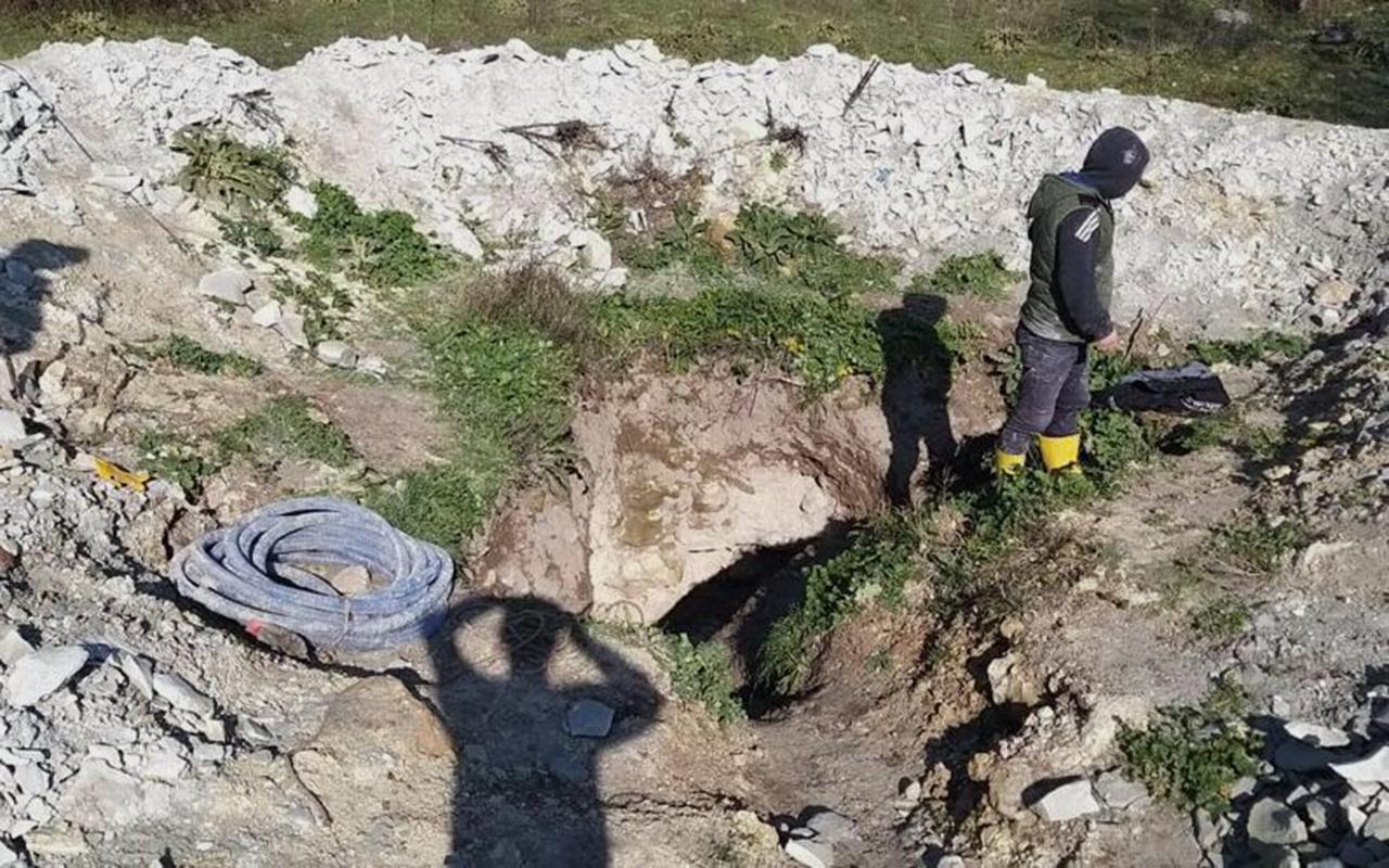 İstanbul Avcılar'da define kazısı yapan 2 kişi yakalandı