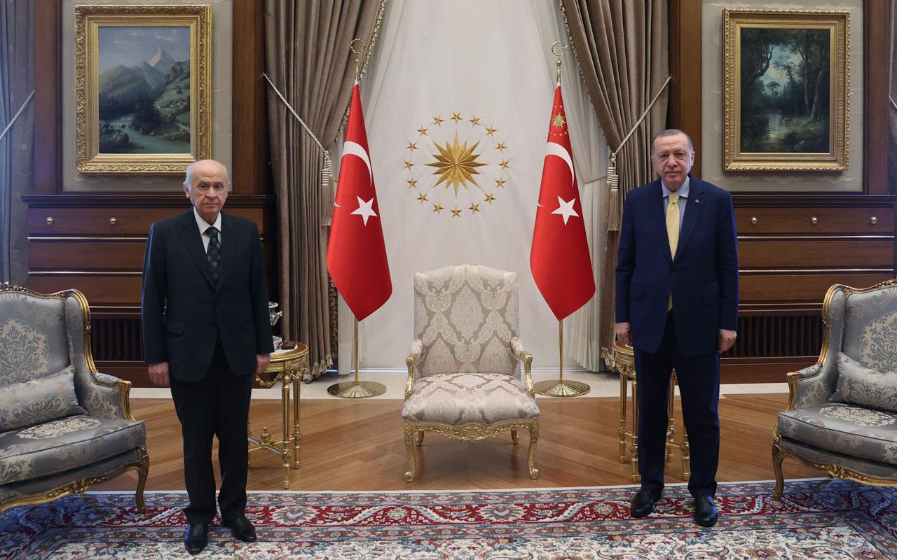 Cumhurbaşkanı Erdoğan-Bahçeli 'anayasa' zirvesinde mutabık kalınan 2 konu!