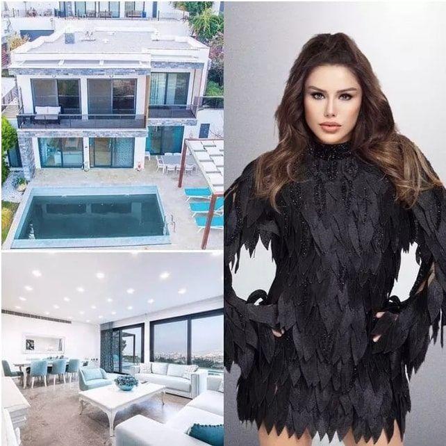 Özel dekore edilmiş 7 milyonluk evini Ceylan satışa çıkardı lüks villa olay!