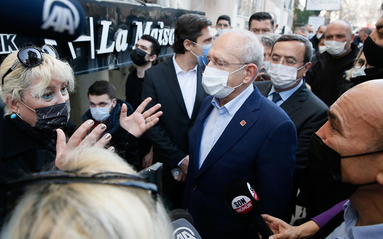 İzmir esnafı Kemal Kılıçdaroğlu'na isyan etti! 'Burada 35 yıldır CHP iktidarda altyapıyı düzeltin artık'
