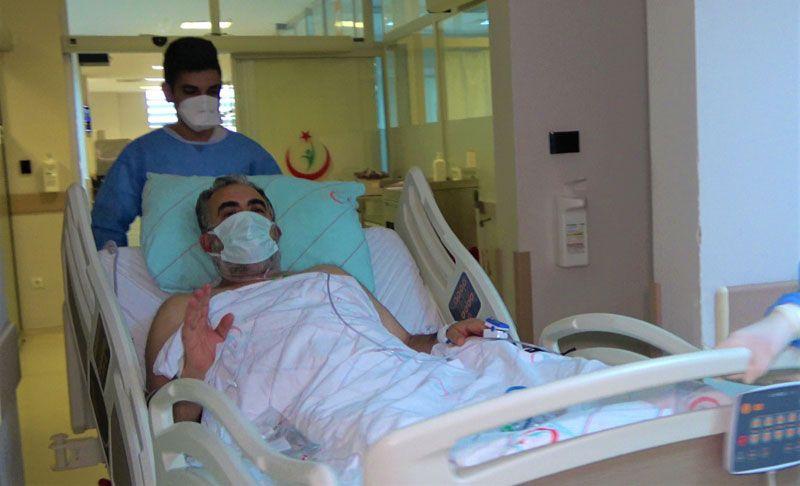 Karı koca birbirinden habersiz koronavirüsten yoğun bakımda yattı biri öldü diğeri kurtuldu