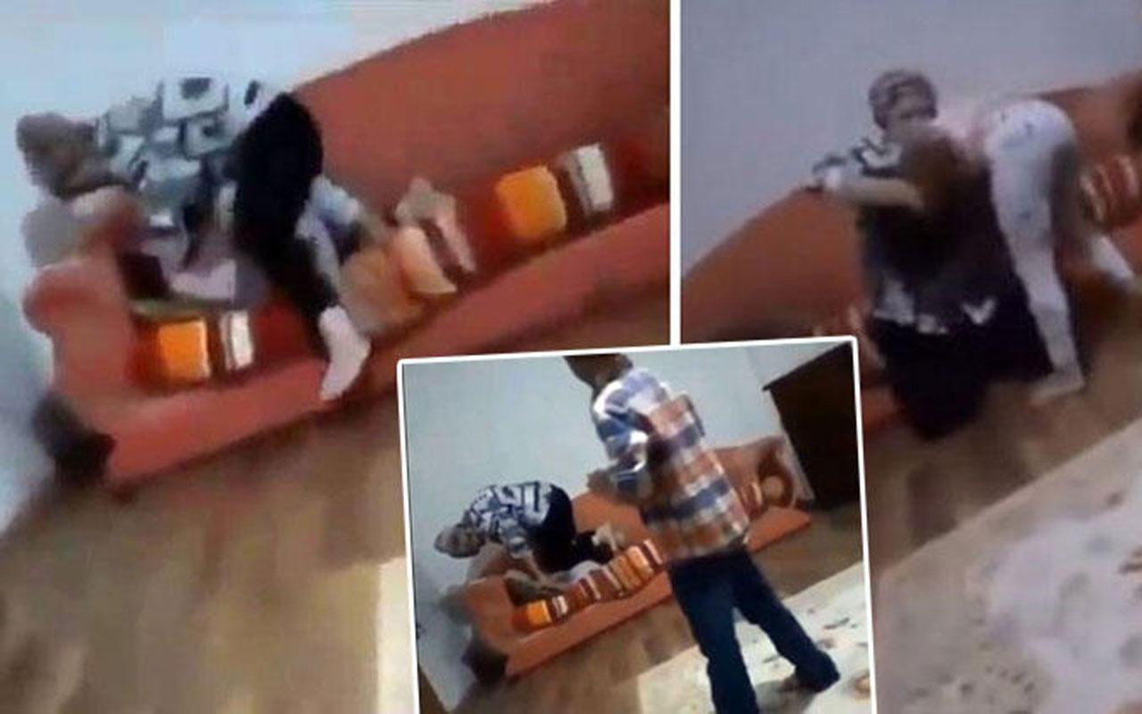 Küçük kıza anne işkencesinin görüntüleri olay oldu! İşkenceci anne Nurcan Serçe gözaltına alındı