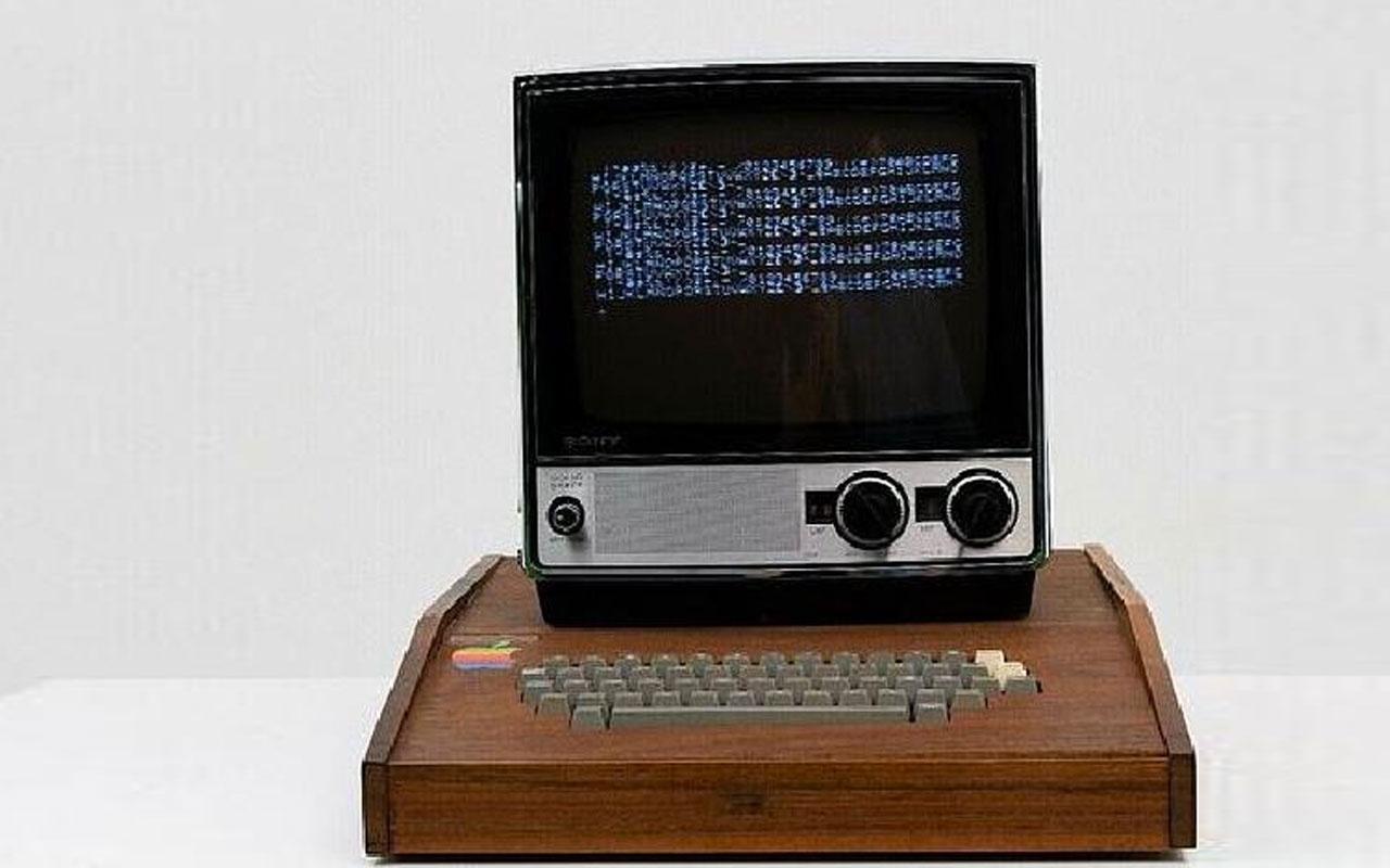 Apple'ın 1976'da ürettiği ilk bilgisayarı 10 milyon 658 TL'ye satışa çıkarıldı