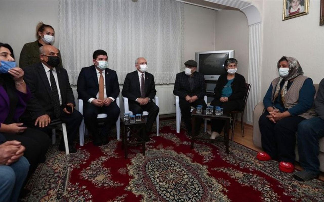 CHP Lideri Kemal Kılıçdaroğlu taziye ziyaretinde