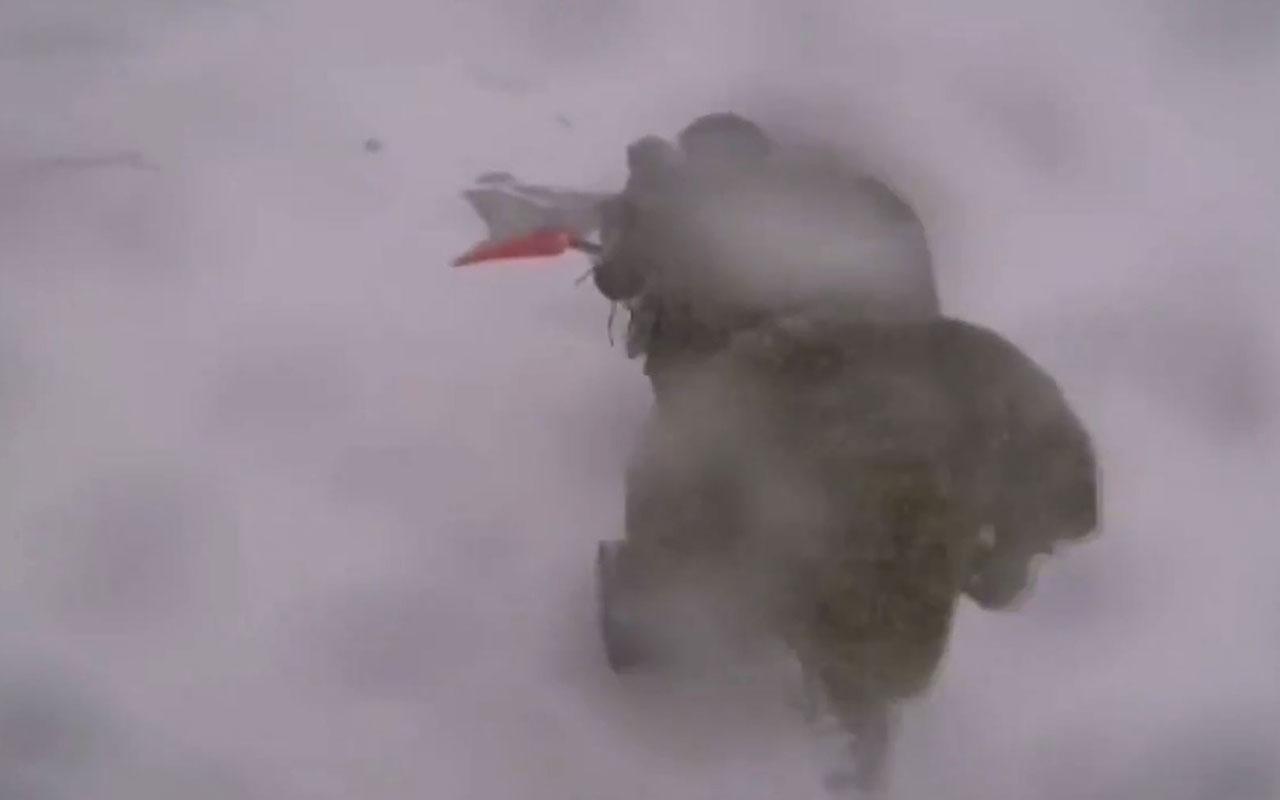 Mehmetçik, 3 bin metrede eksi 30 derecede kar altında teröriste göz açtırmıyor