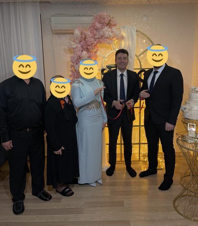 Enes Batur'un kadın takipçisi istedi kırmadı isteme töreninde eğlenceli anlar