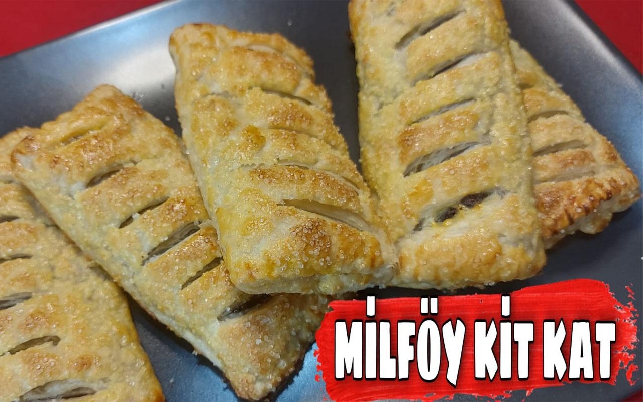 Milföy kitkat nasıl yapılır çıtır çıtır lezzet!