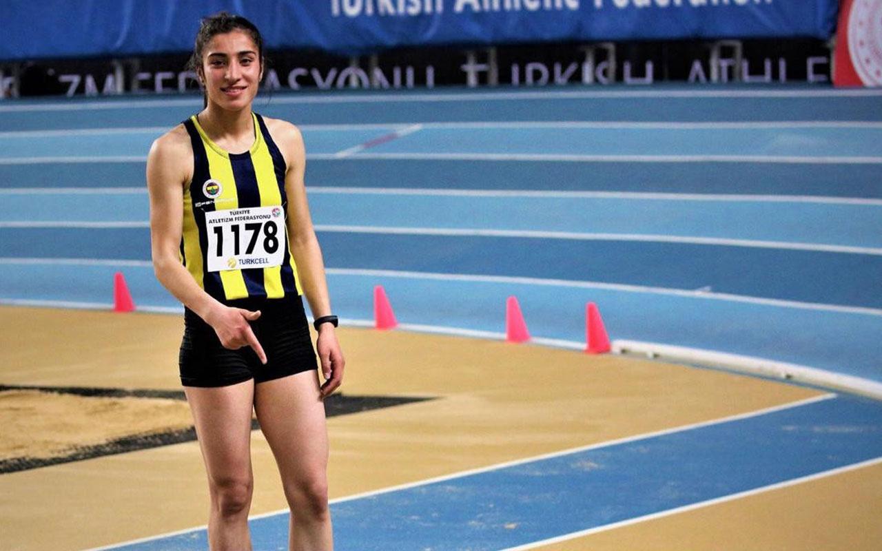 Vanlı atlet Nevin İnce'den Türkiye rekoru