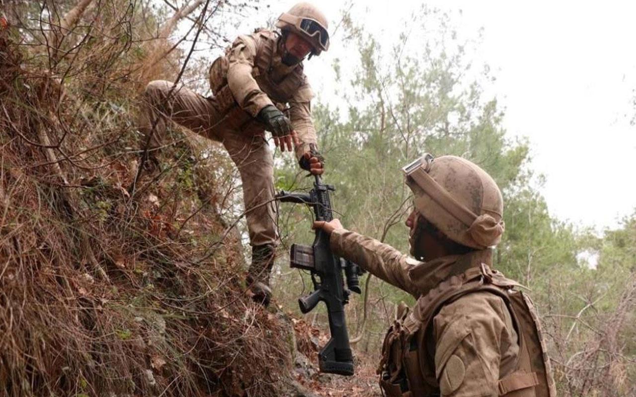 Hatay, Osmaniye, Gaziantep'te 'Eren-8 Amanoslar Operasyonu' başlatıldı
