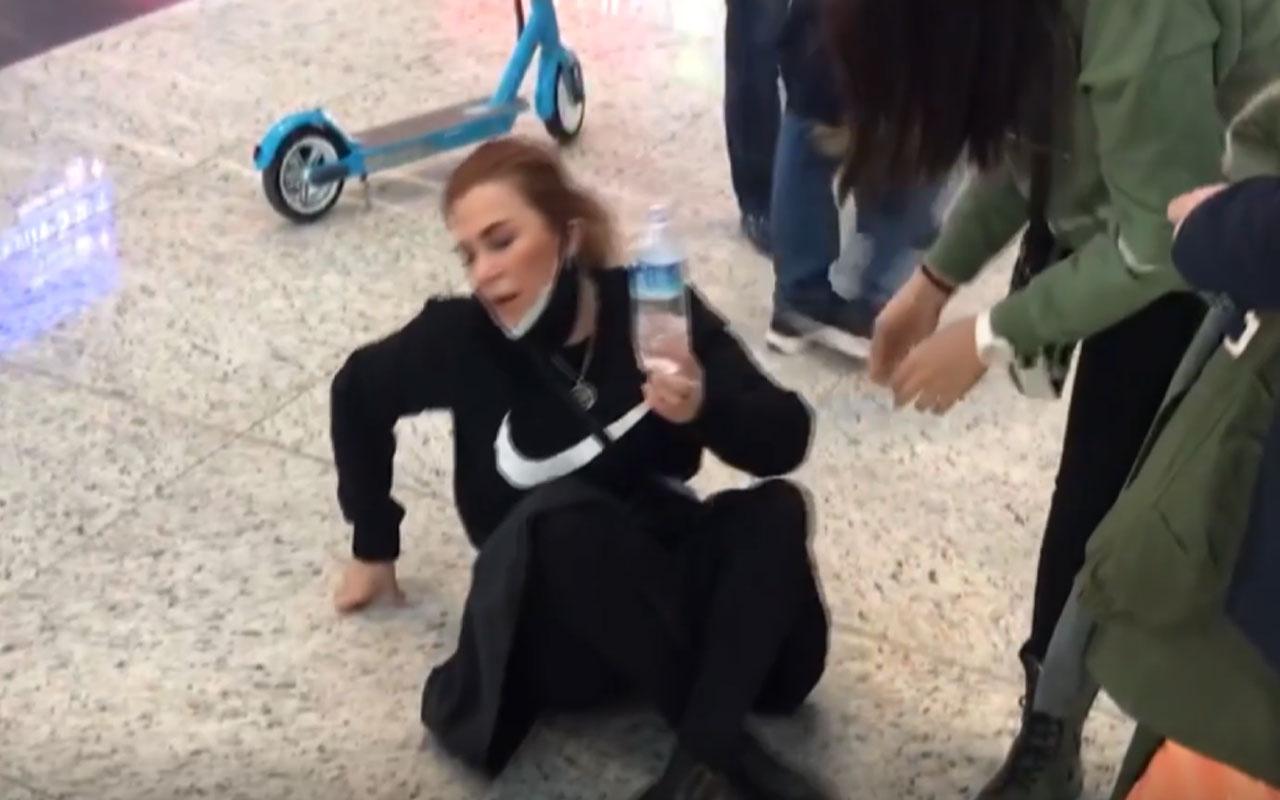 İstanbul Havalimanı'nda hareketli saatler! Çocuğu kaybolan anne fenalık geçirdi