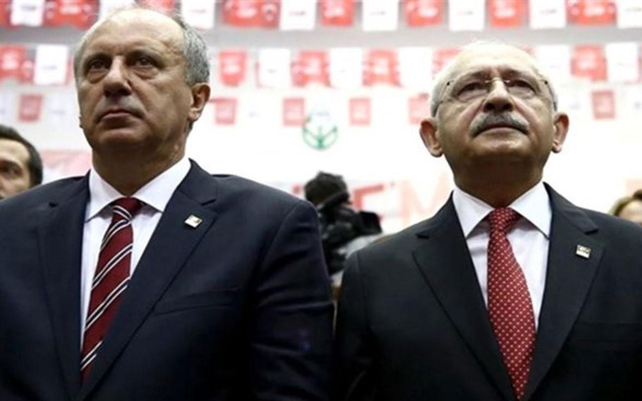 Muharrem İnce'den CHP yönetimine: Kripto Tayyipçi bunlar