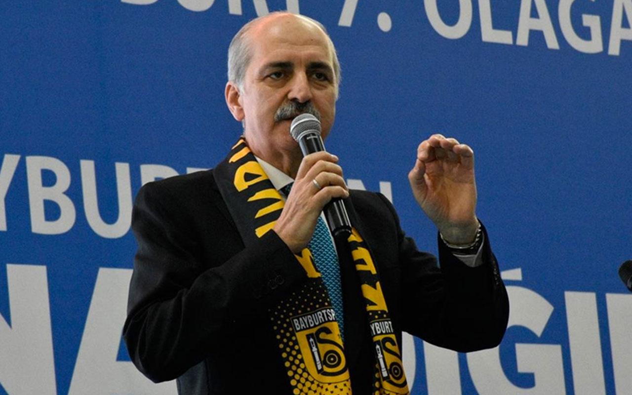 """AK Partili Numan Kurtulmuş'tan """"yeni anayasa"""" çağrısı: Herkes taşın altına elini koysun"""