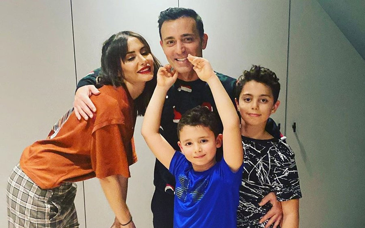 Mustafa Sandal'ın eski eşi Emina Jahovic ve çocukları koronavirüse yakalandı