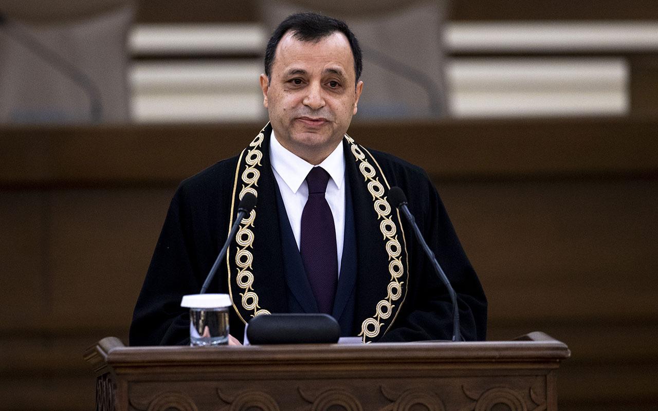 Son dakika AYM Başkanı Zühtü Arslan'dan anayasa uyarısı