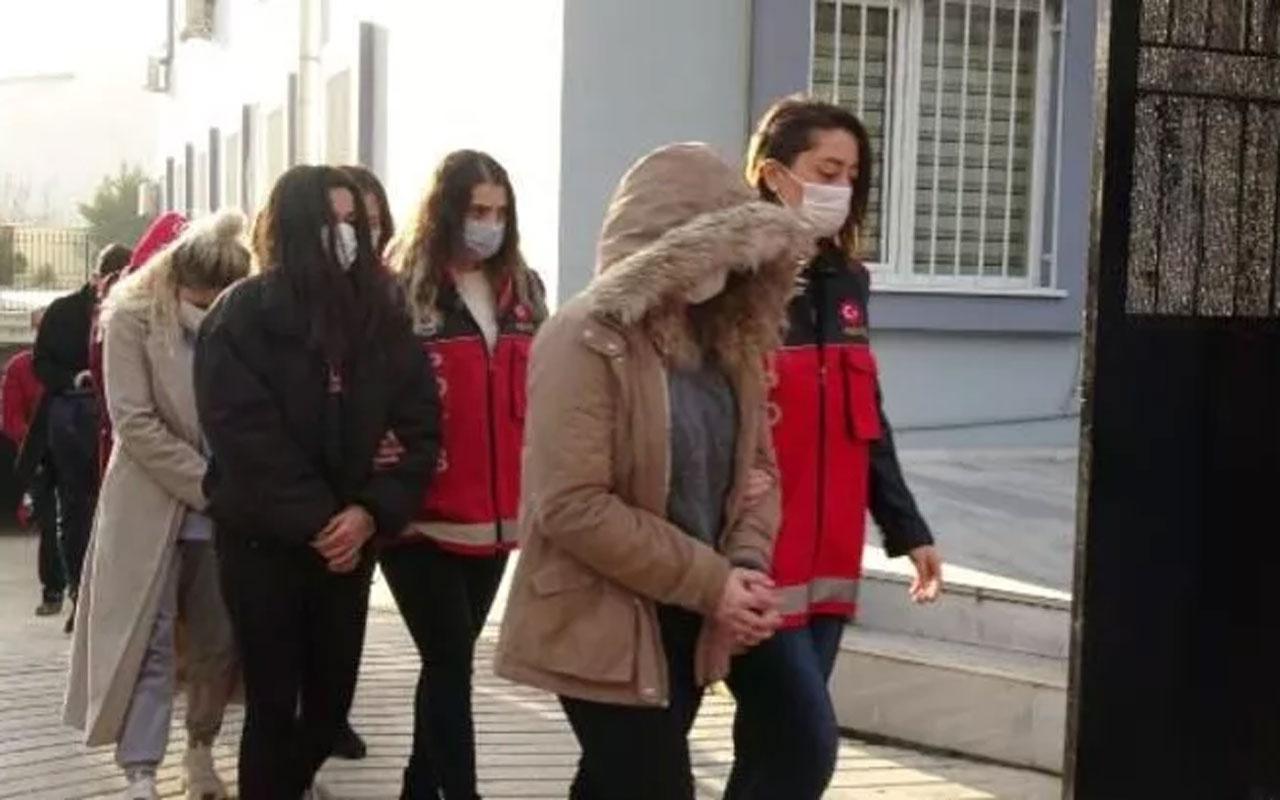 """Balıkesir'de """"jigolo çetesine"""" 28 tutuklama"""