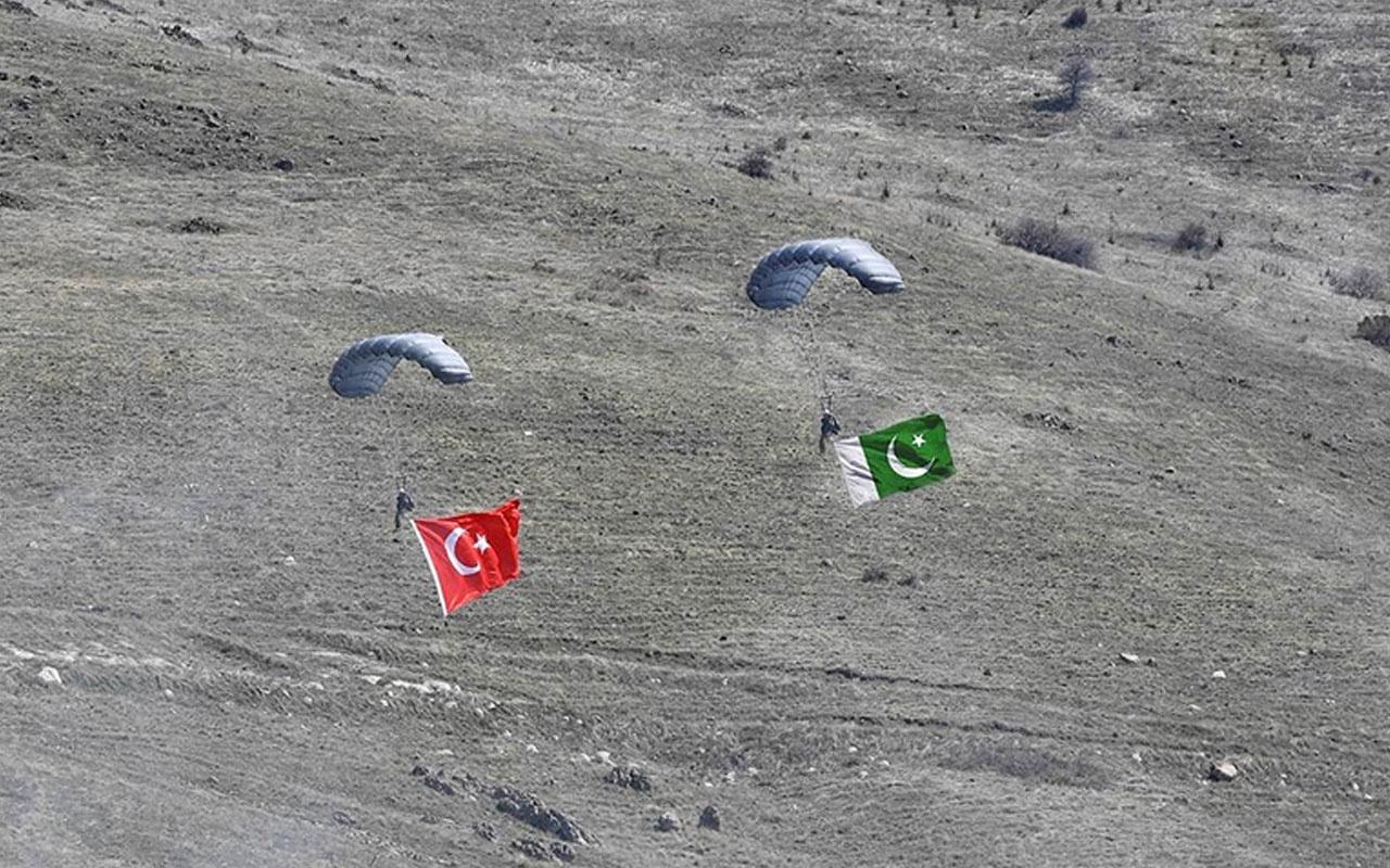 Türkiye ile Pakistan arasında ortak yapılan 'Atatürk Tatbikatı 2021' başladı