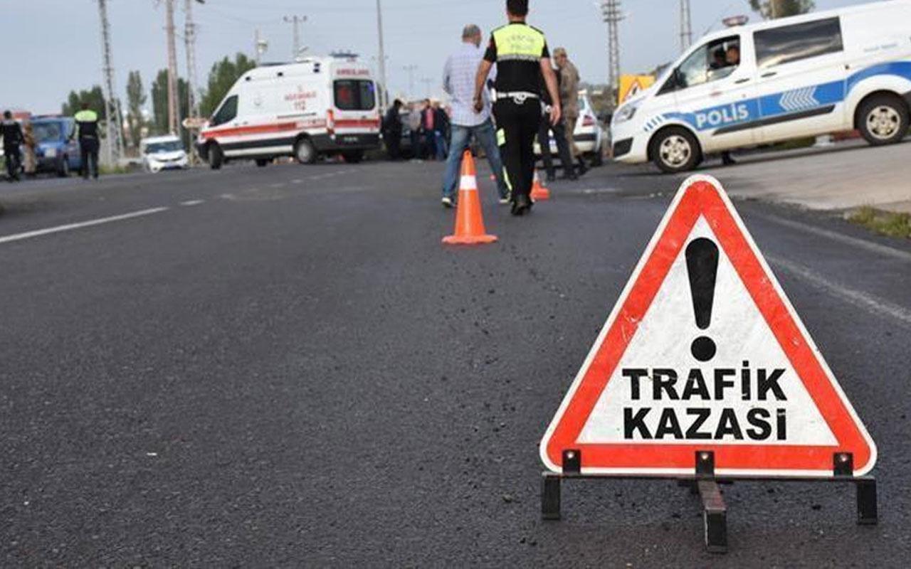 Eskişehir'de yaşandı! Kaza yapan aracı görünce duran otomobil ve tıra kamyon çarptı