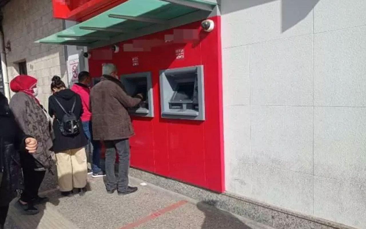 Yok artık! Aydın'da ATM'deki iğrençlik mide bulandırdı