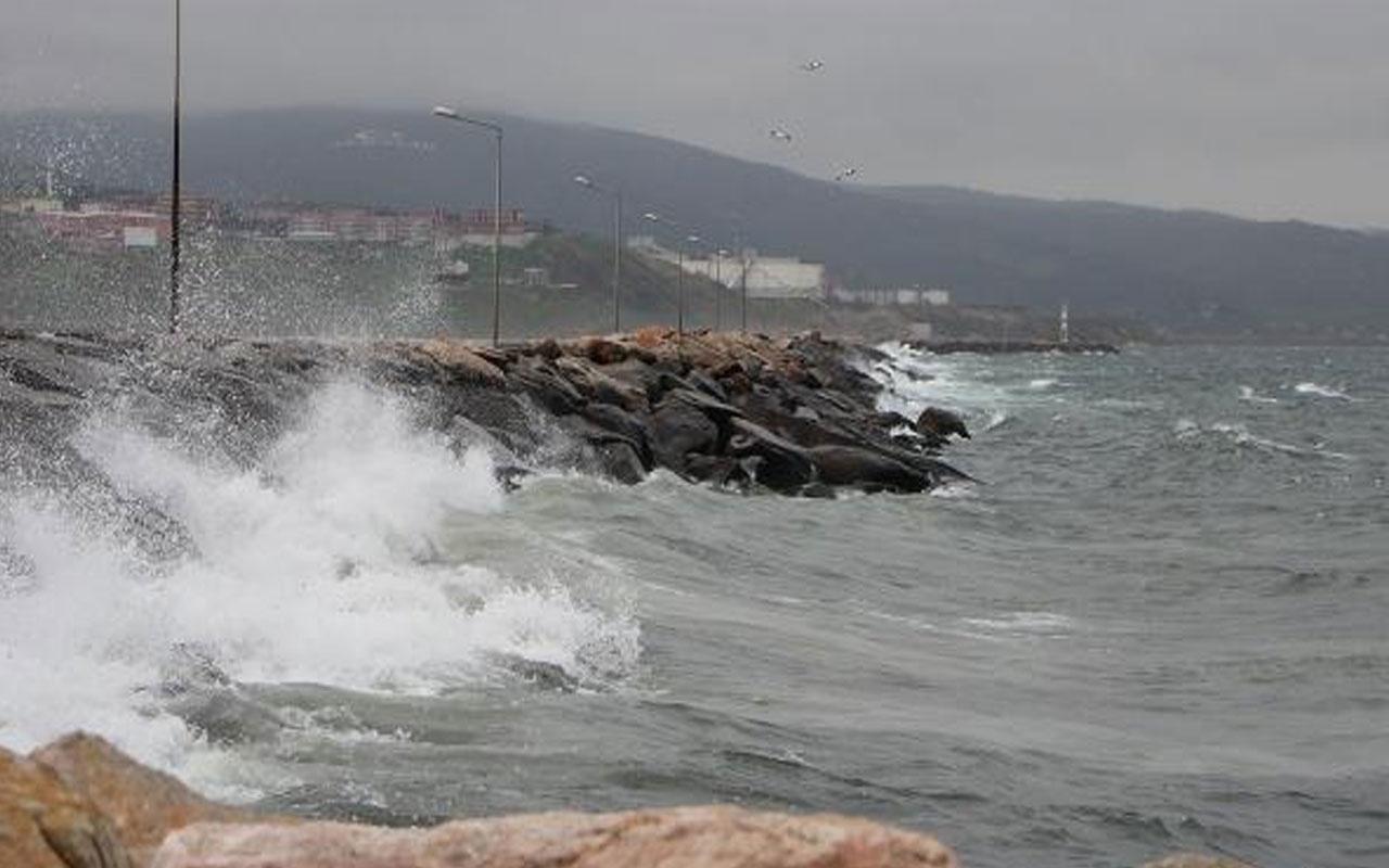 Bursa'da deniz otobüslerinin 6 seferi iptal edildi