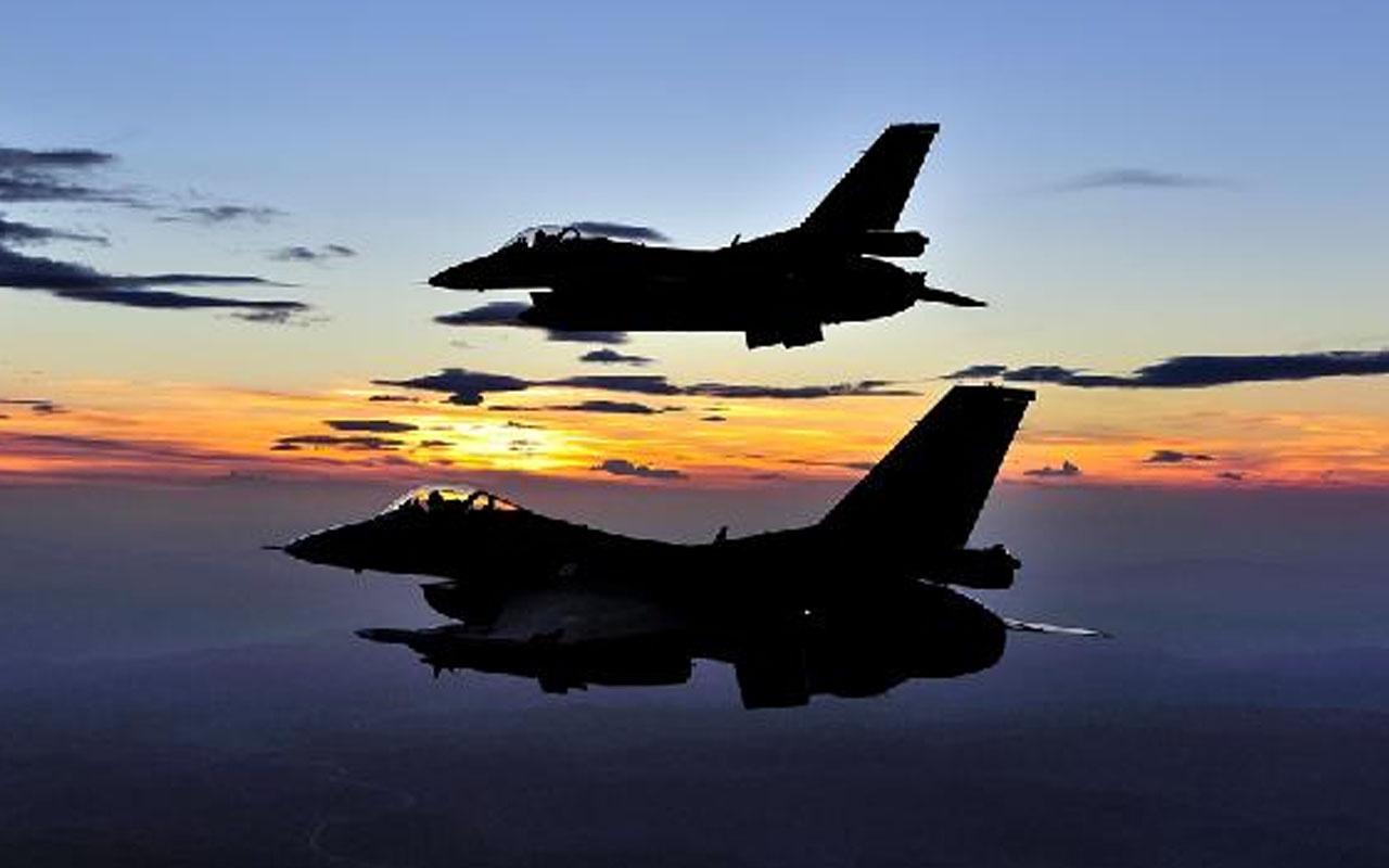Milli Savunma Bakanlığı duyurdu! Irak'ta terör hedefleri vuruluyor