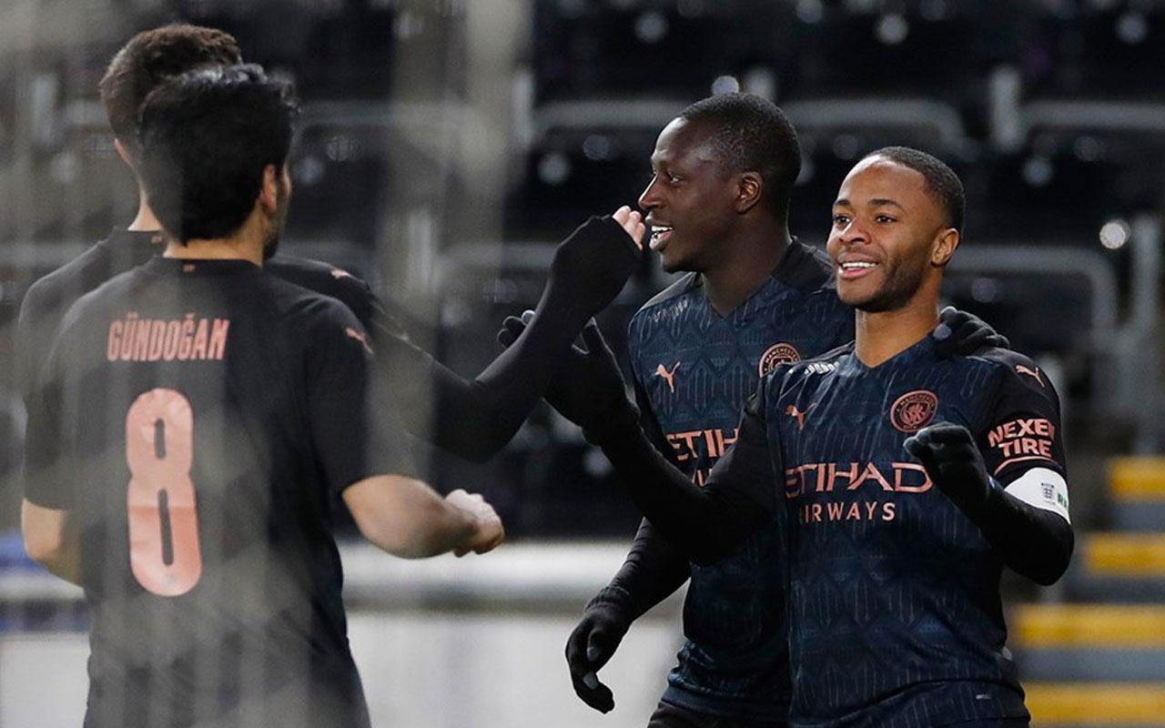 Manchester City rekorla çeyrek finalde