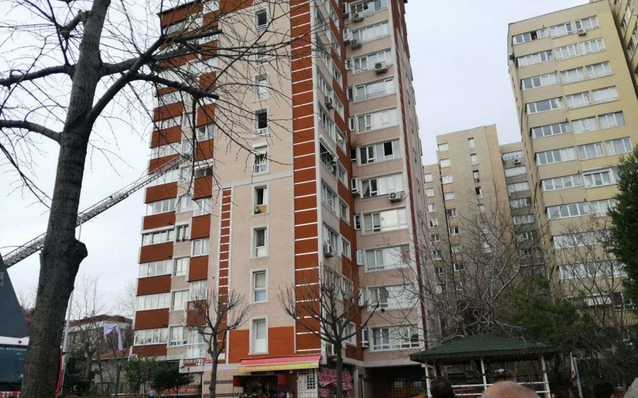 İstanbul Bahçelievler'de 15 katlı binada patlama meydana geldi