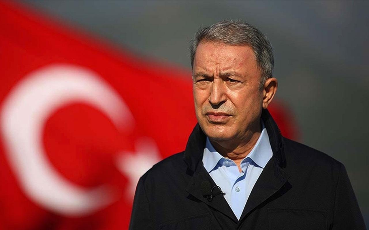 Milli Savunma Bakanı Hulusi Akar'dan önemli Pençe Kartal-2 harekatı açıklaması