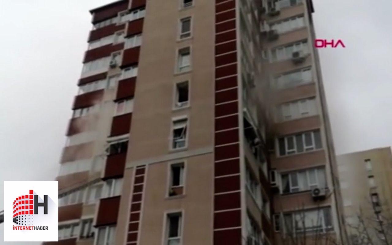 İstanbul'da 14 katlı binada patlama meydana geldi