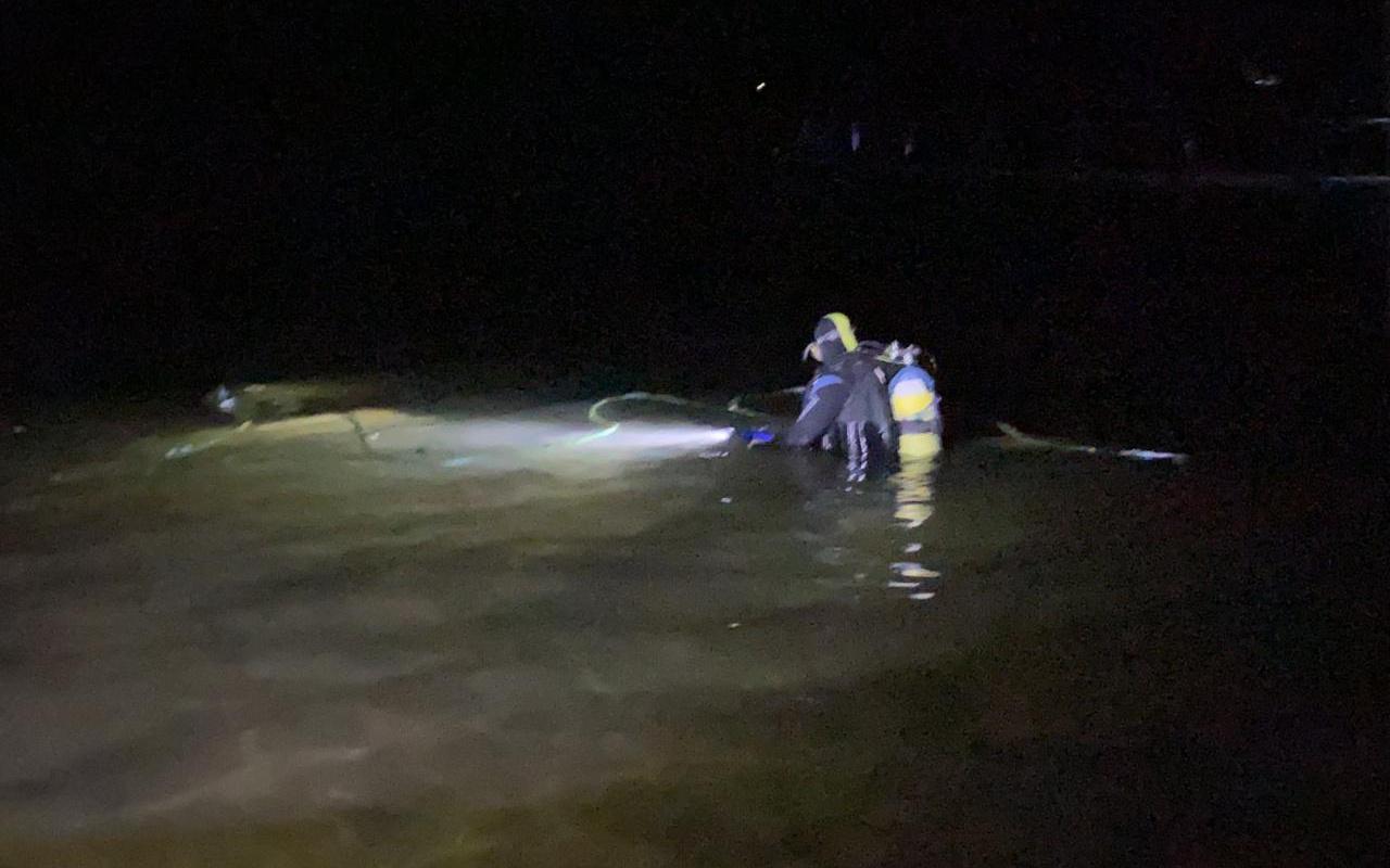Samsun'da cenaze dönüşü baraj gölüne devrilen otomobildeki 3 kişi öldü