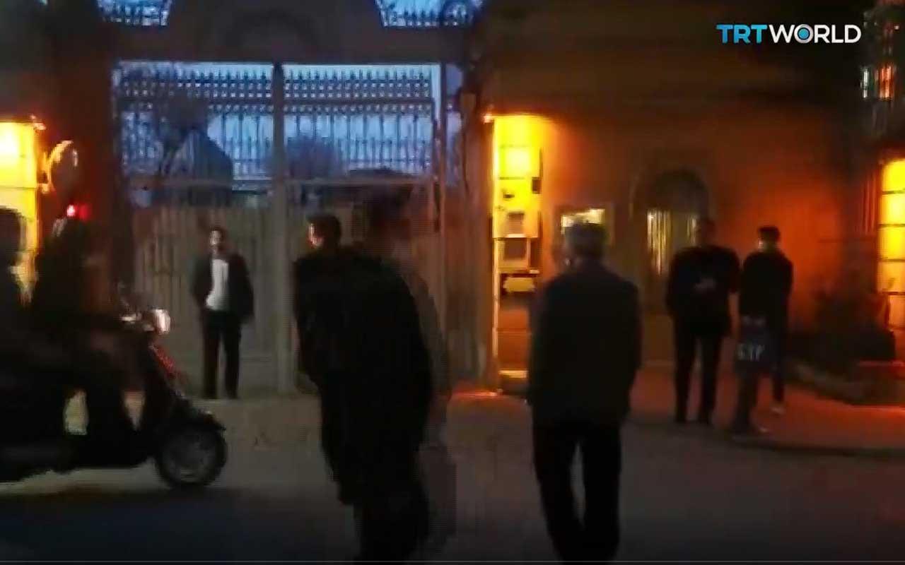 TRT World Ekibi, İran Başkonsolosluğu çalışanları tarafından saldırıya uğradı