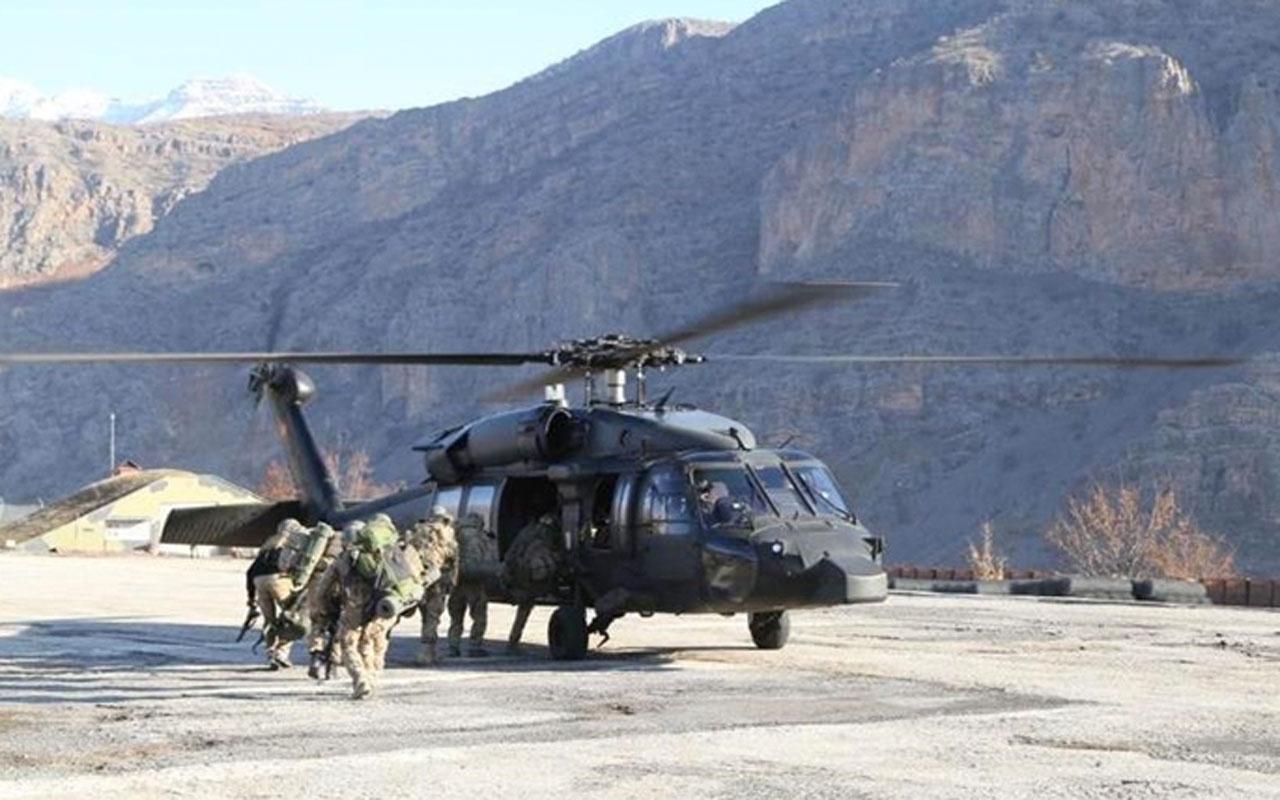 Milli Savunma Bakanlığından 'Pençe Kartal-2 Harekatı' açıklaması 33 terörist etkisiz hale getirildi