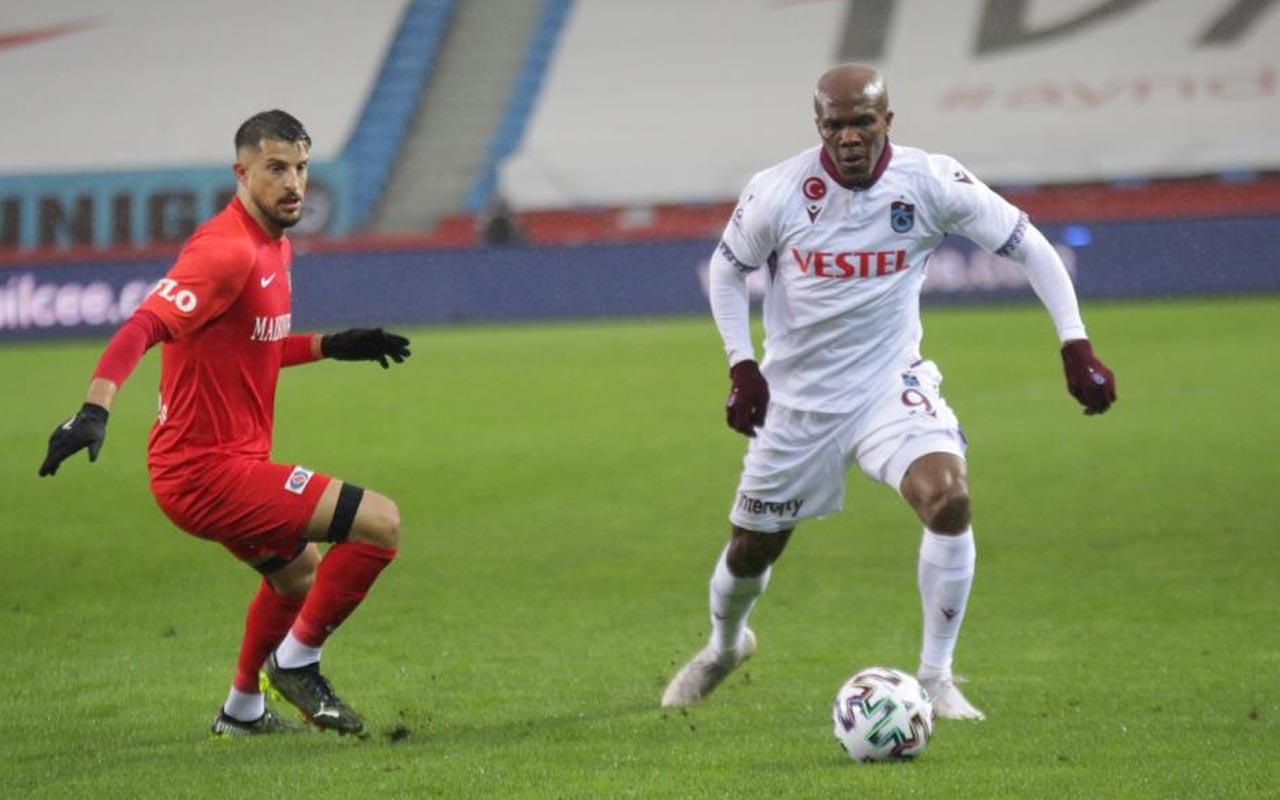 Trabzonspor Gaziantep FK Süper Lig maç sonucu: 1-0