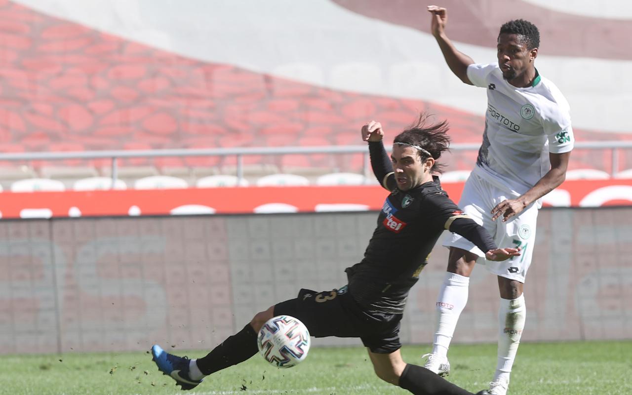 Konyaspor galibiyet hasretini Denizlispor karşısında sonlandırdı