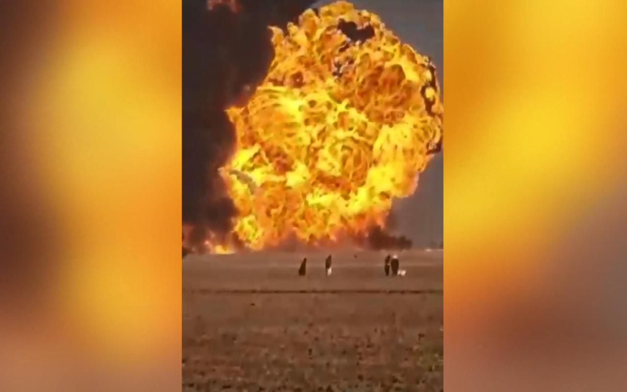 Afganistan'da Türk TIR'ları da dahil 500 tanker patlamada kül oldu
