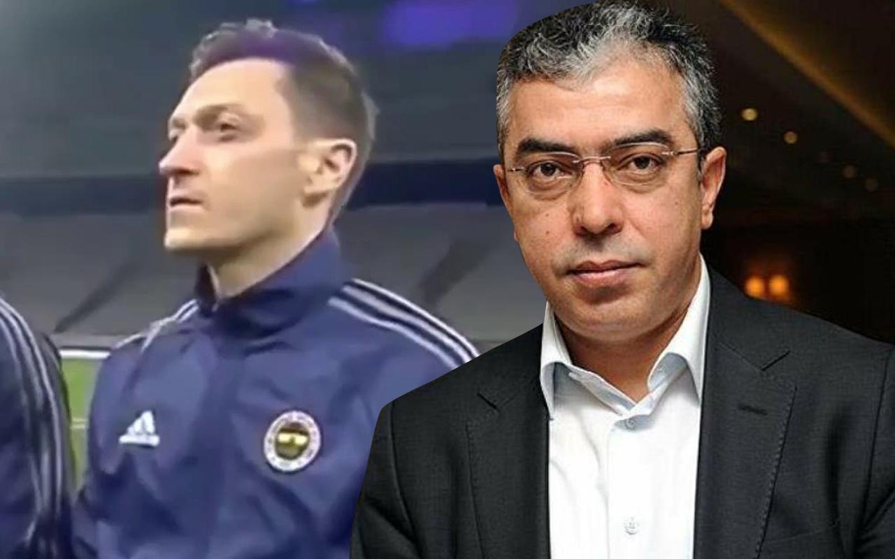 Çapsızlar deyip tepki gösterdi! Mesut Özil'e Cumhurbaşkanı Başdanışmanı Mehmet Uçum'dan destek