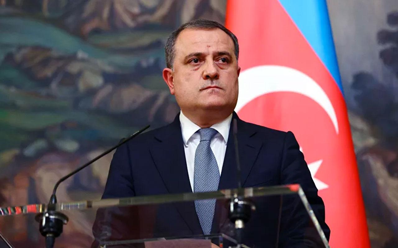 Azerbaycan Dışişleri Bakanı Bayramov'dan Türkiye'ye taziye mesajı