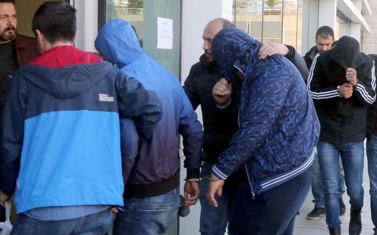 İstanbul'da 'torbacı' operasyonu: 40 gözaltı 62 kilo uyuşturucu ele geçirildi