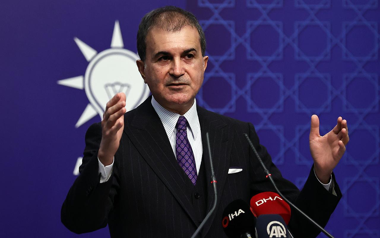 Ömer Çelik'ten ABD'ye 'sözde Ermeni soykırımı' tepkisi