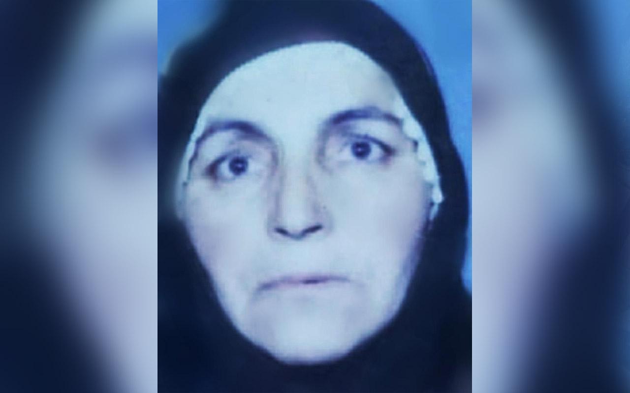 Samsun'da yaşlı kadının evine giren yakınları şok oldu